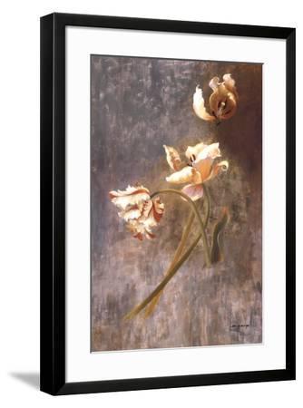 Tulip Rhythms-Fran Di Giacomo-Framed Art Print