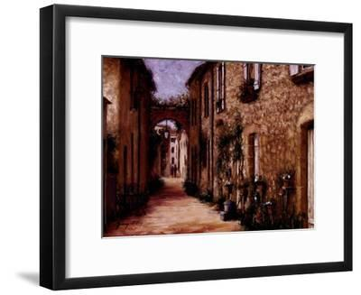 Tuscan Light-Stephen Bergstrom-Framed Art Print