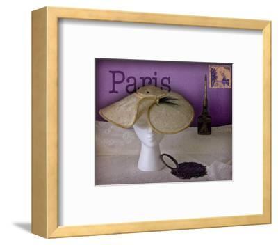 Paris Hat-Judy Mandolf-Framed Art Print