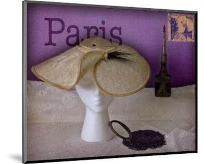 Paris Hat-Judy Mandolf-Mounted Art Print
