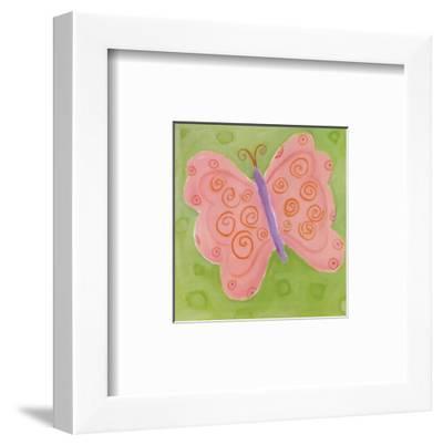 Peace Butterfly-Dona Turner-Framed Art Print
