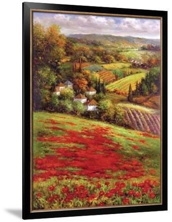 Valley View III--Framed Art Print