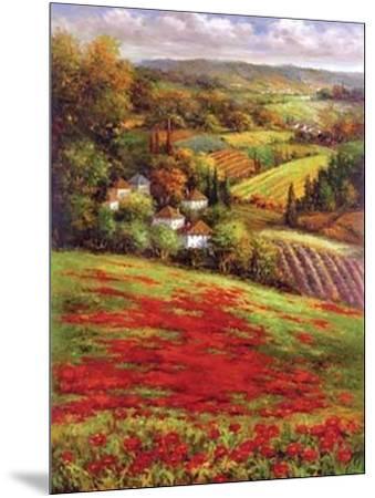 Valley View III--Mounted Art Print