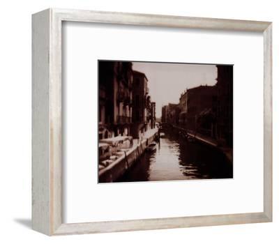 Venetian Canal-David Westby-Framed Art Print