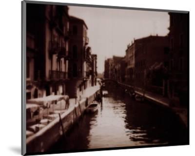 Venetian Canal-David Westby-Mounted Art Print