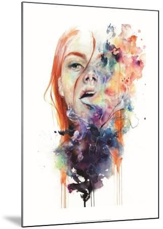 This Thing Called Art is really Dangerous-Agnes Cecile-Mounted Art Print
