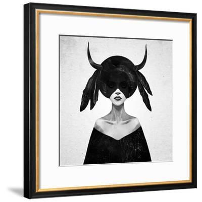 The Mound II-Ruben Ireland-Framed Art Print