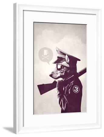 Weekend Warrior-Hidden Moves-Framed Art Print