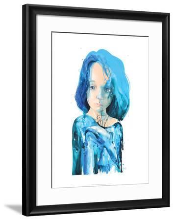 Sea Inside-Lora Zombie-Framed Art Print