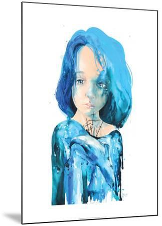 Sea Inside-Lora Zombie-Mounted Art Print