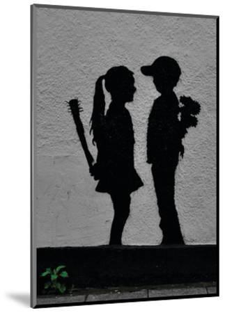 War Children-Banksy-Mounted Art Print