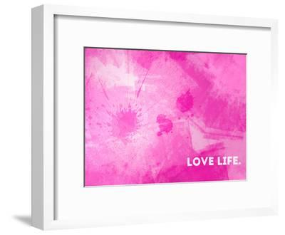 Emotional Art Love Life-Melanie Viola-Framed Art Print