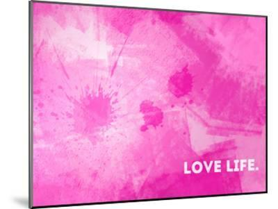 Emotional Art Love Life-Melanie Viola-Mounted Art Print