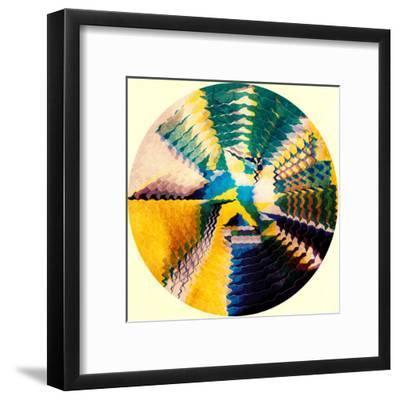 Trip Under The Stars-Anai Greog-Framed Art Print