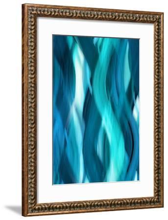 Aqua Flow-Annie Campbell-Framed Giclee Print