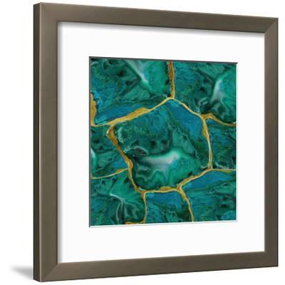 Malachite Accent-Danielle Carson-Framed Giclee Print