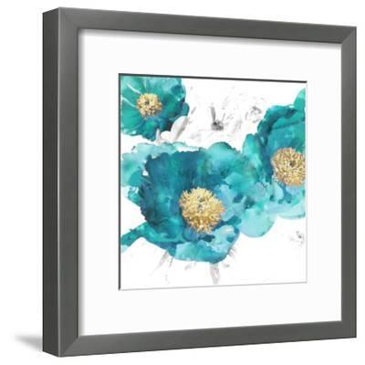 Aqua Trio I-Vanessa Austin-Framed Giclee Print