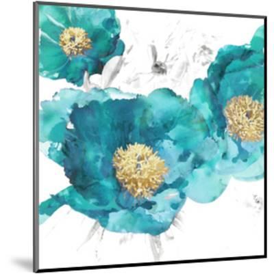 Aqua Trio I-Vanessa Austin-Mounted Giclee Print