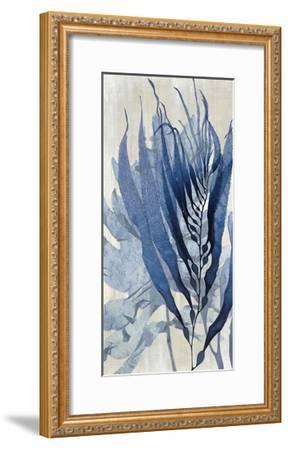 Sea Nature in Blue I-Melonie Miller-Framed Giclee Print
