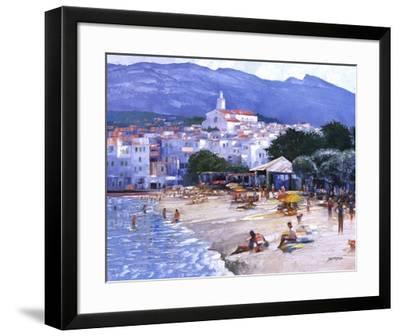 Along The Costa Brava-Howard Behrens-Framed Art Print