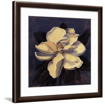 Glowing Magnolia-Curtis Parker-Framed Art Print