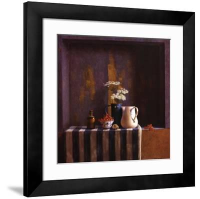 Striped Still Life II-Julien Landa-Framed Art Print