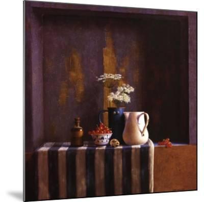 Striped Still Life II-Julien Landa-Mounted Art Print