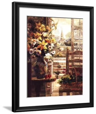 Jan's Bouquet-R^ Hong-Framed Art Print