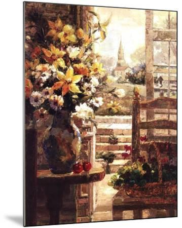 Jan's Bouquet-R^ Hong-Mounted Art Print