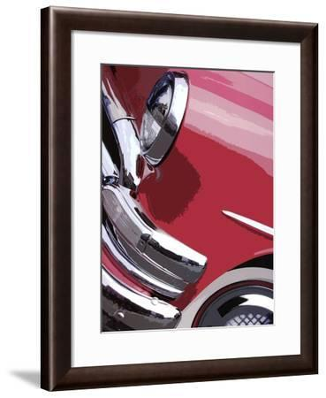 Tail Fins And Two Tones I--Framed Art Print