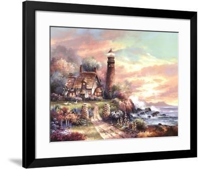 Evening Light-James Lee-Framed Art Print