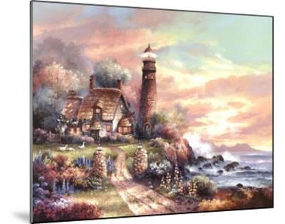 Evening Light-James Lee-Mounted Art Print