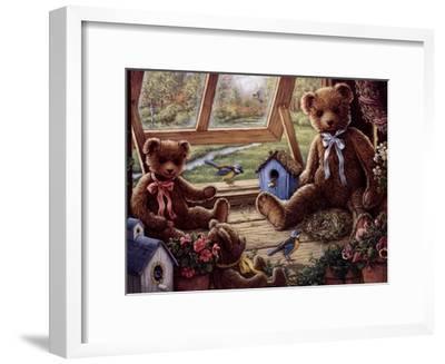 Garden House Tenants-Janet Kruskamp-Framed Art Print