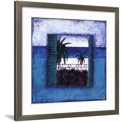 View Of Nice l-Francoise Persillon-Framed Art Print