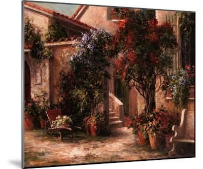 Garden Court-Art Fronckowiak-Mounted Art Print