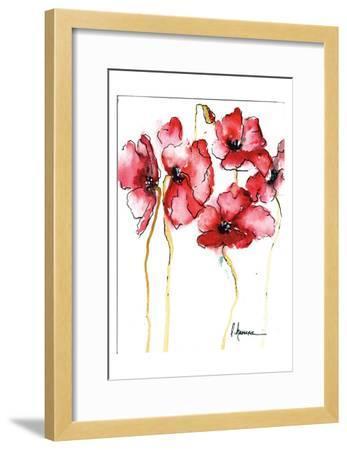 Amapola Roja 3-May May-Framed Art Print