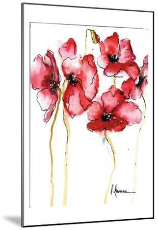 Amapola Roja 3-May May-Mounted Art Print