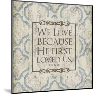 We Love-Jace Grey-Mounted Art Print