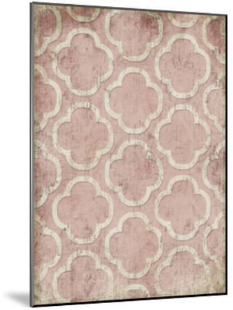 Antique Reverse Rose Wall Mate-Jace Grey-Mounted Art Print