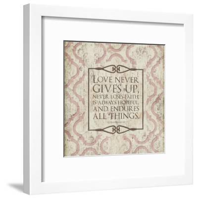Never Loses Faith-Jace Grey-Framed Art Print