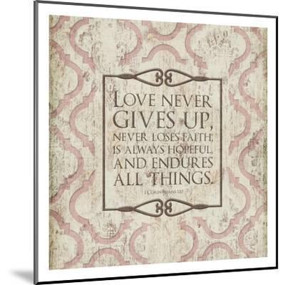 Never Loses Faith-Jace Grey-Mounted Art Print