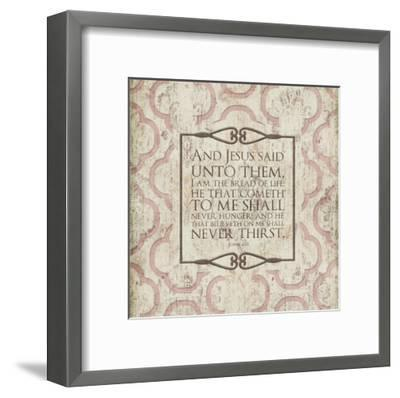He That Cometh-Jace Grey-Framed Art Print
