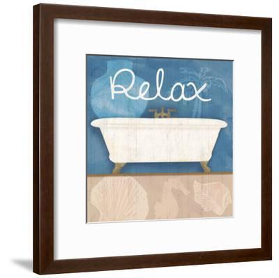 Relaxing Bath-Lauren Gibbons-Framed Art Print
