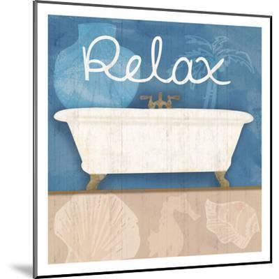 Relaxing Bath-Lauren Gibbons-Mounted Art Print