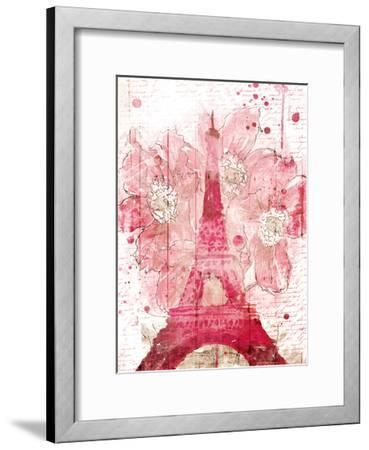 Paris Bloom-OnRei-Framed Art Print