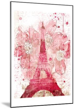 Paris Bloom-OnRei-Mounted Art Print