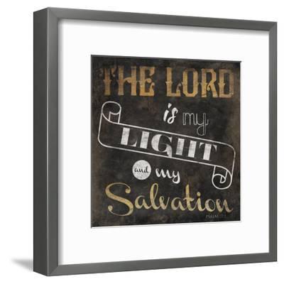 The Lord-Jace Grey-Framed Art Print