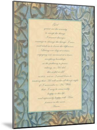 God Serenity-Smith Haynes-Mounted Art Print