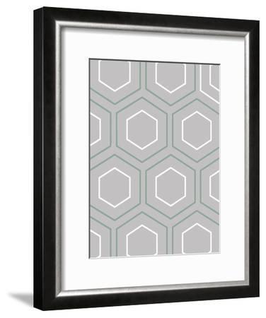 Geo Grey-Sheldon Lewis-Framed Art Print