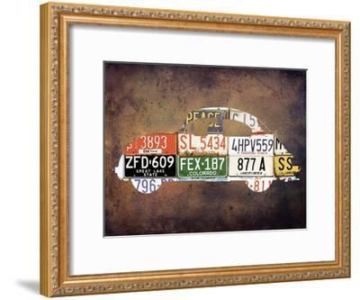 Travel On Route 66-Sheldon Lewis-Framed Art Print
